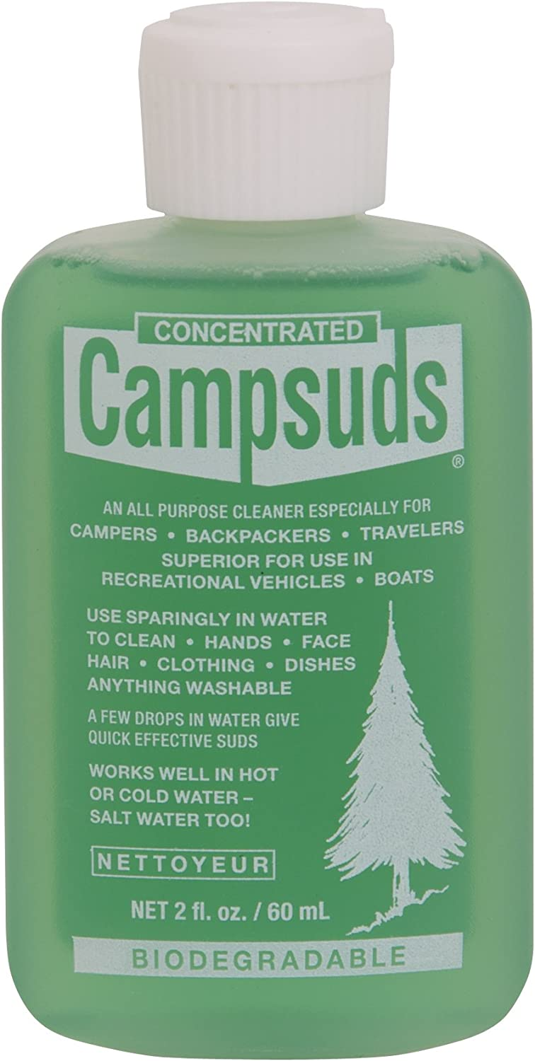 Sierra Dawn Campsuds All Purpose Cleaner, 2-Ounce : Sports & Outdoors