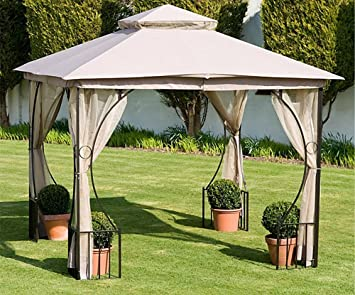 Pagoda Oxford Old Jersey Gazebo 3 Meter Garden Outdoor Living Fast Postage