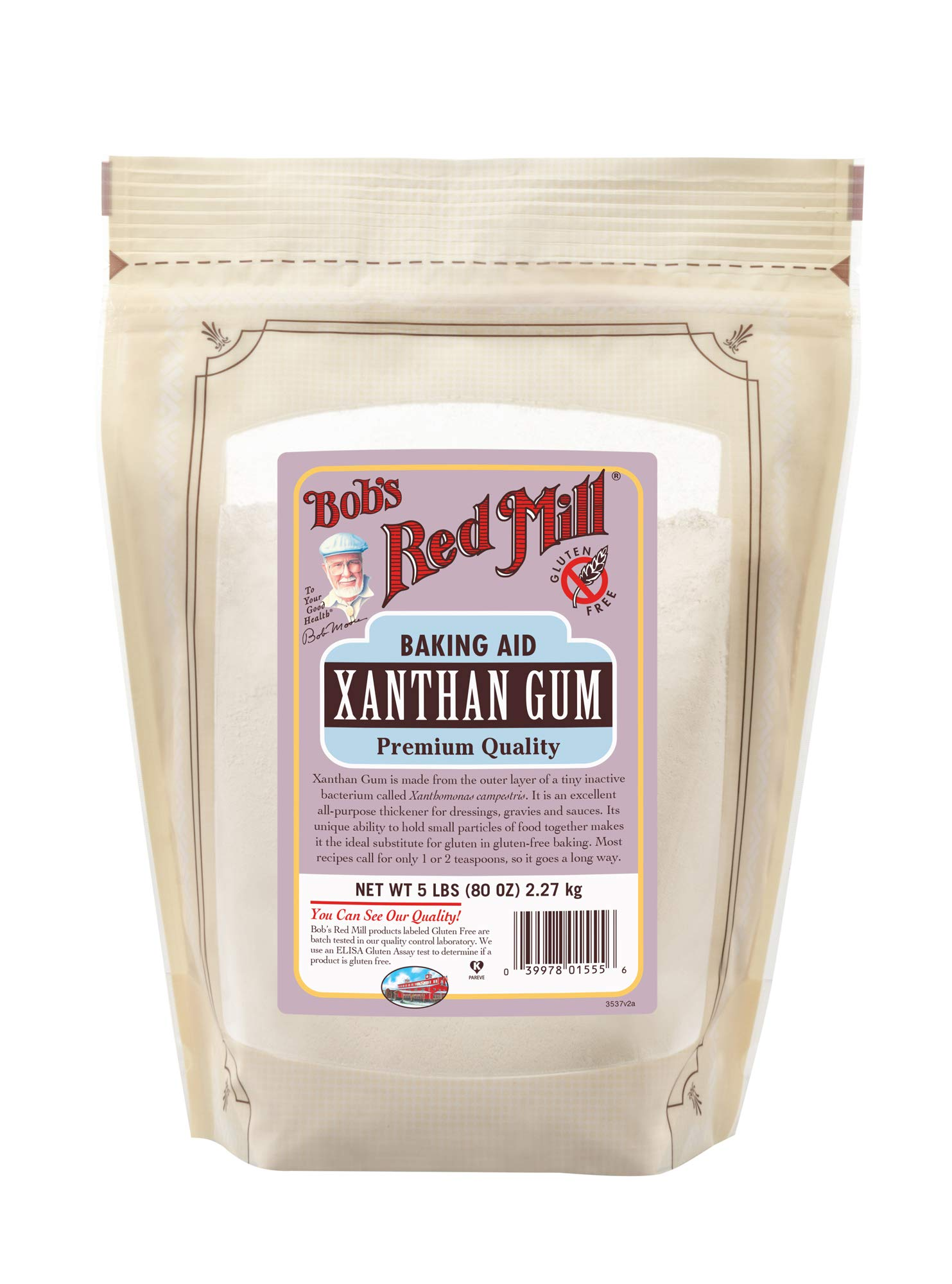 Bob's Red Mill Gluten Free Xanthan Gum, 5 Pounds