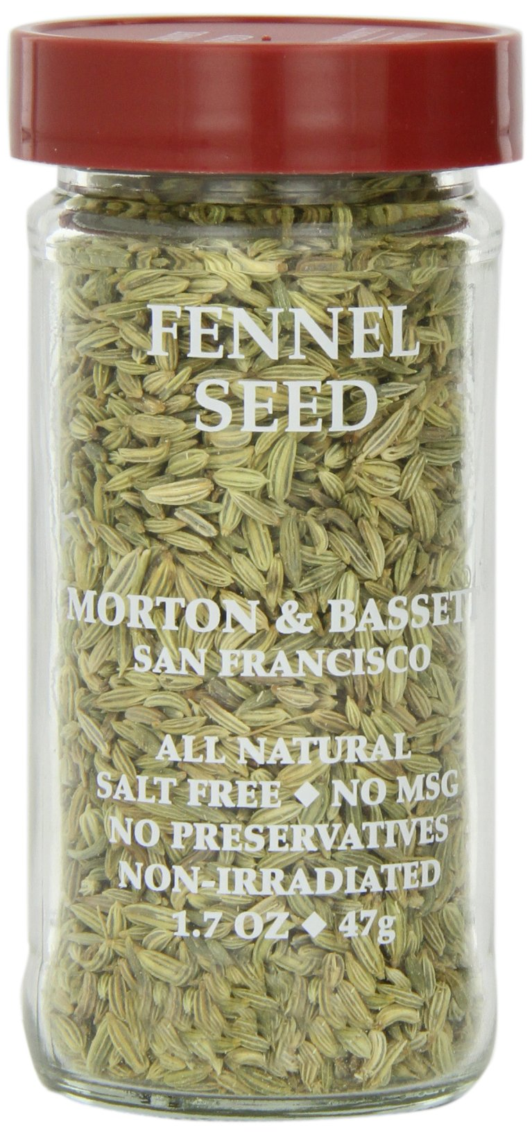 Morton & Basset Spices, Fennel Seed, 1.7 Ounce (Pack of 3)
