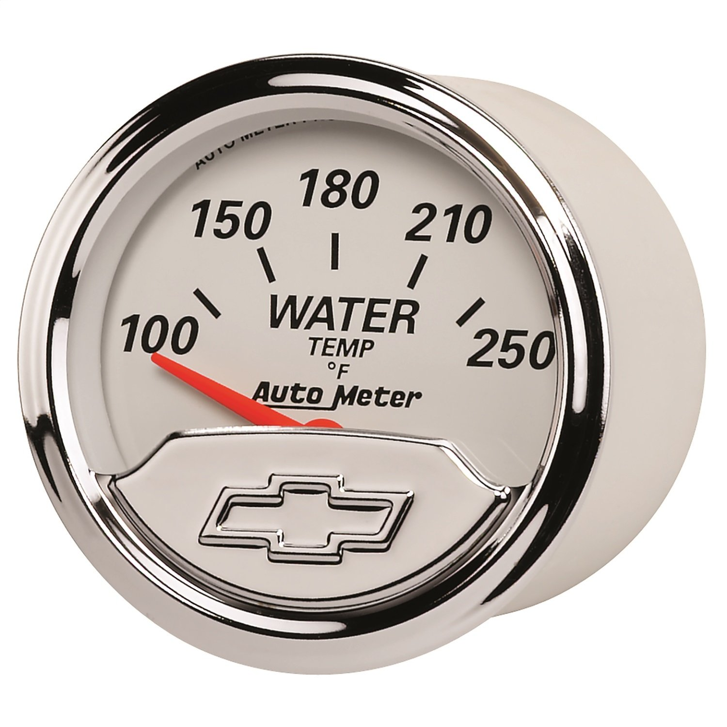 Auto Meter 1337-00408 Chevy Vintage 2-1/16'' Electric Water Temperature Gauge (100-250 Degree F, 52.4mm)