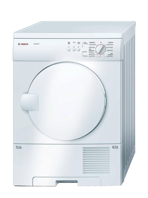 Bosch Wtc84101 Kondenstrockner Classixx 7 B Kg Wei Washing Machine Wiring Diagram Sensitivedrying Duo Tronic Elektro Grogerte