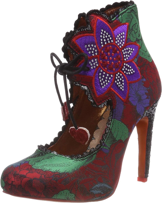 TALLA 36 EU. Poetic Licence by Irregular Choice Autumn Bloom, Zapatos de tacón con Punta Cerrada para Mujer
