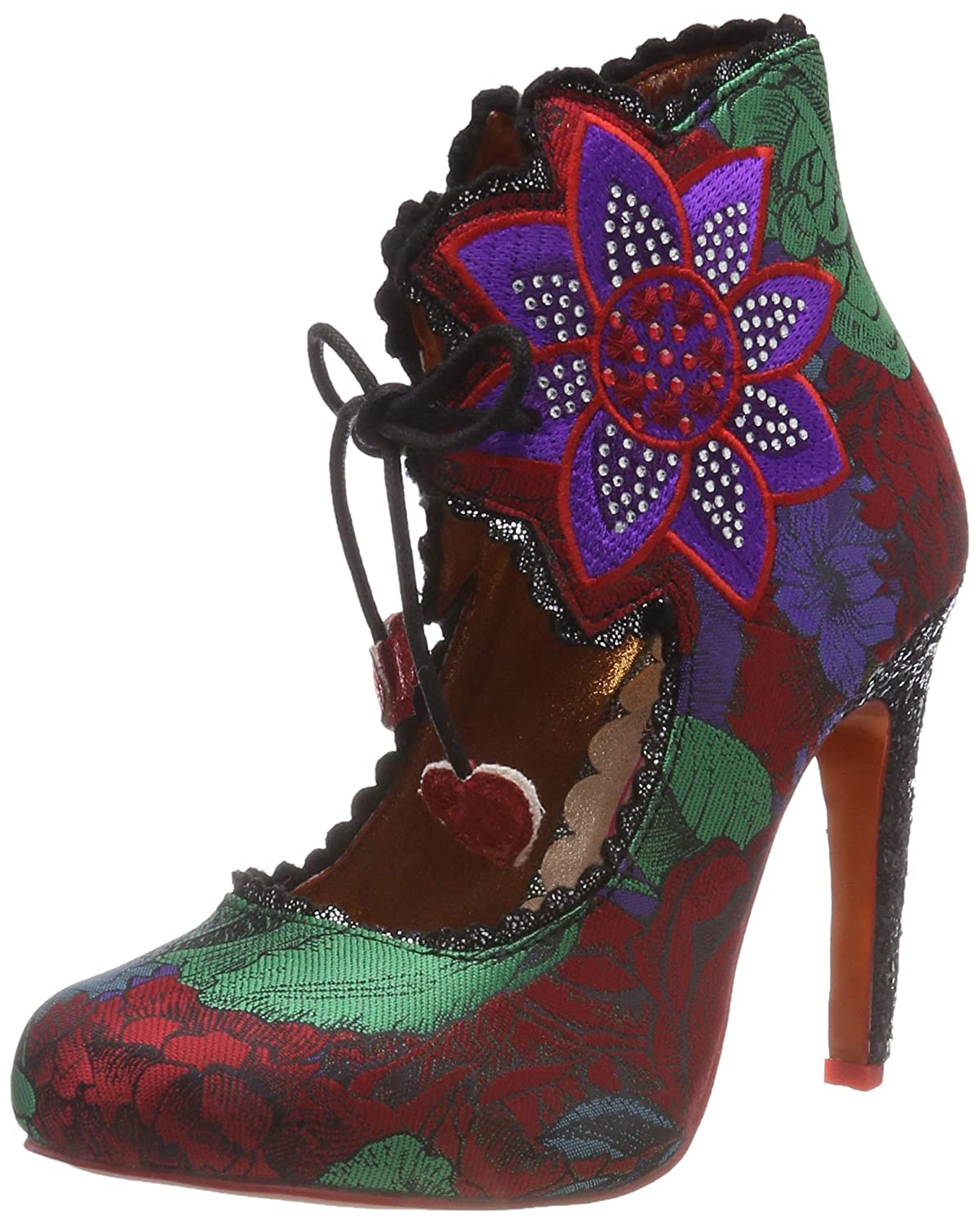 Poetic Licence by Irregular Choice Autumn Bloom, Zapatos de tacón con Punta Cerrada para Mujer