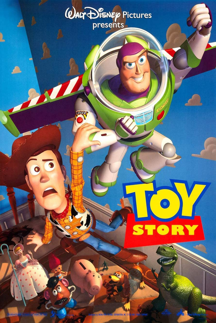 """Toy Story 1 Poster 27/""""x40/"""""""
