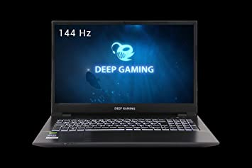 DeepGaming Silex - Ordenador portátil Gaming 16.1