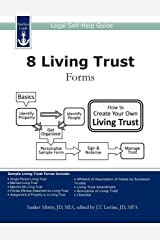 8 Living Trust Forms: Legal Self-Help Guide Paperback