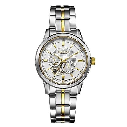 Relojes mecanicos automático SL-9005 Tourbillon para Hombres/Tendencia de Moda multifunción Impermeable/