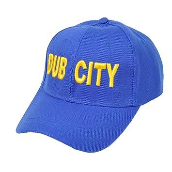 plus de photos af996 a1c3e NBA Golden State Warriors Dub Ville Velcro réglable chapeau ...