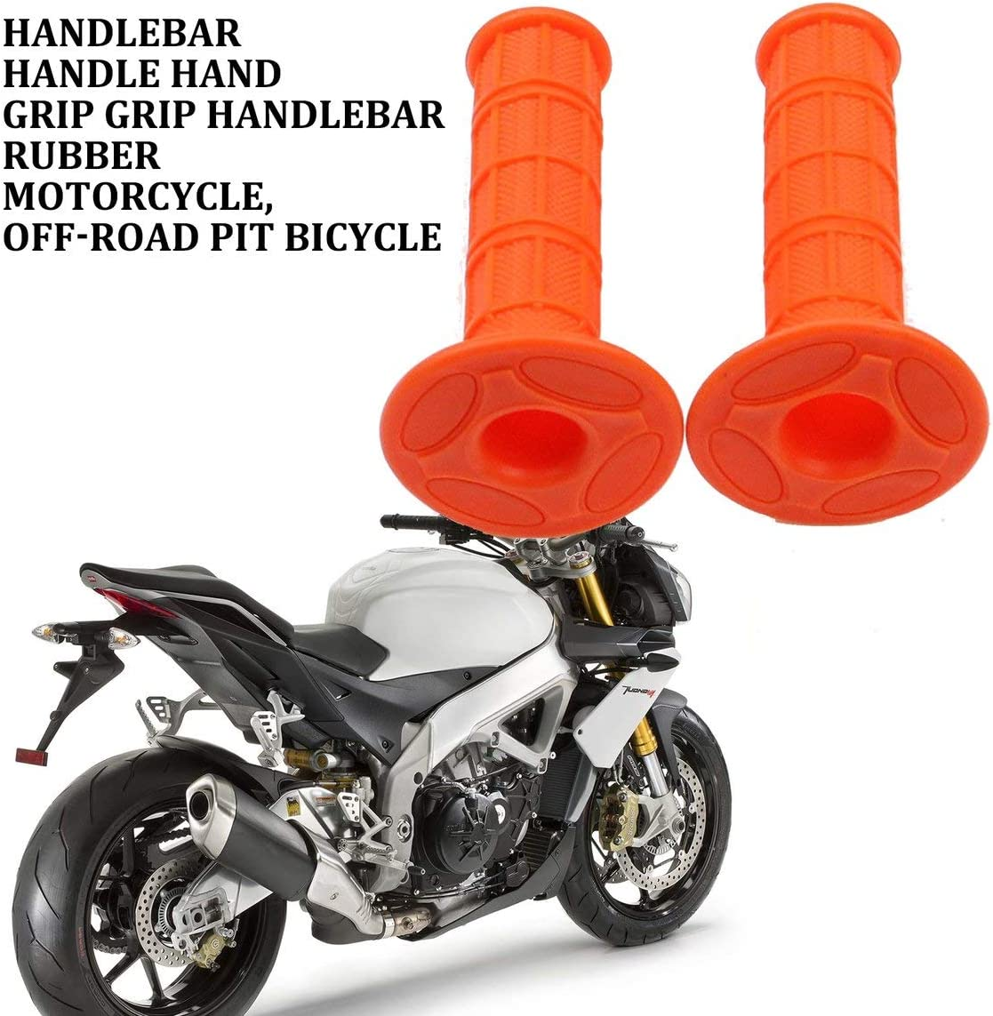 farbe: Random Lenkergriffe Lenkergriffe Lenker Gummi Motorrad Dirt Pit Bike F/ür Kawasaki Kx65 Kx85 Kx125 Kx250 Kx500 /&