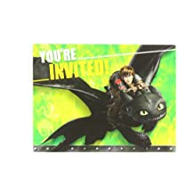How to Train Your Dragon 2 Invite/Thank You Cards Combo, Party Favor
