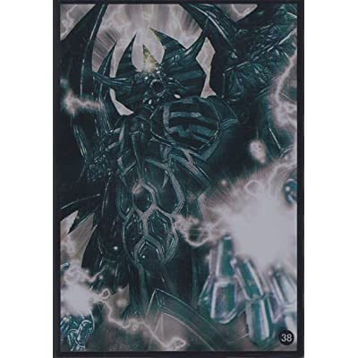(100) Yu-Gi-Oh Card Protecter Obelisk The Tormentor Card Sleeves 100 Pieces 63x90mm: Toys & Games