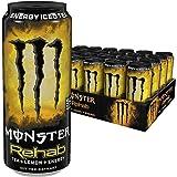 Monster Energy Rehab Tea + Lemonade, 24er Pack (24 x 500 ml)  Dose