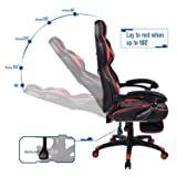 Video Gaming Chair Racing Office - PU Leather