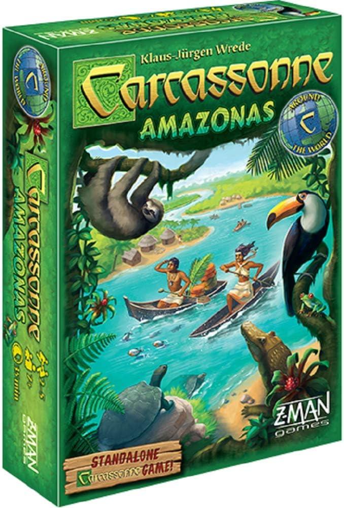 Z Man Spiele zmg78670 Carcassonne: Amazonas: Amazon.es: Juguetes y juegos