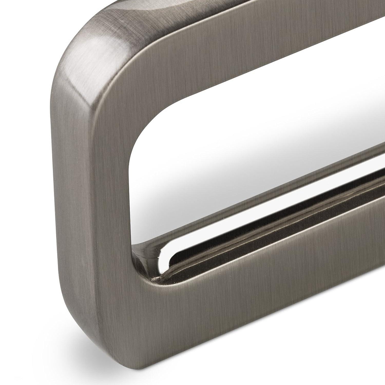 SCH/ÜCO ALU COMPETENCE M/öbelgriff Olessia Schubladengriff Griff Edelstahloptik gl/änzend BA 32 mm Design trifft auf Funktion