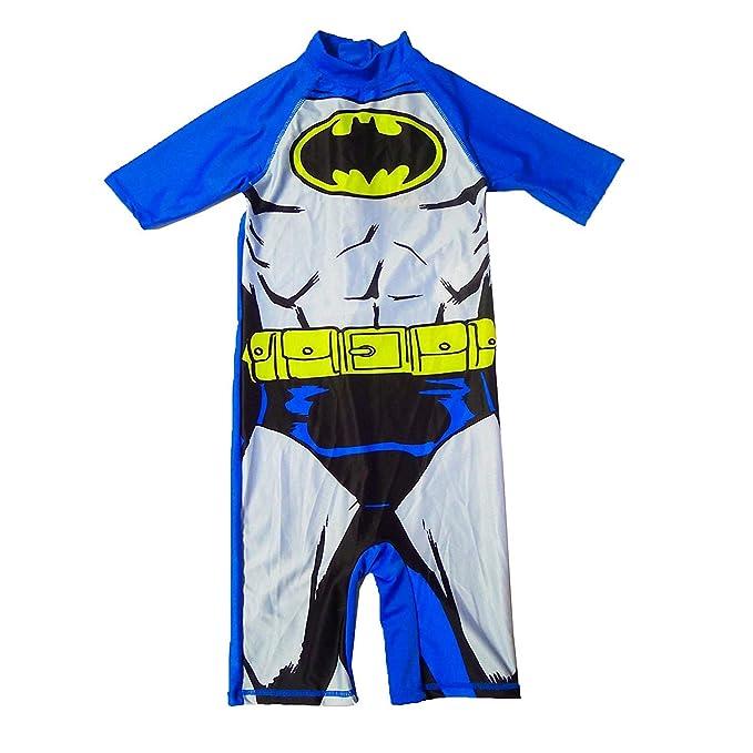 DC Comics Batman Oficial Infantil Sol Traje de baño infantil ...