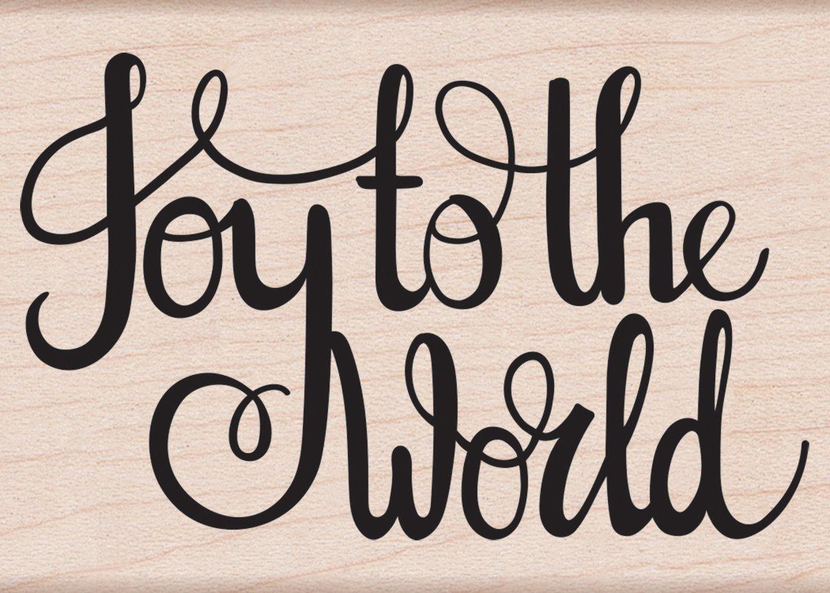 Hero Arts Joy to The World