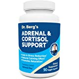 Dr. Berg's Adrenal & Cortisol Support Supplement - Natural Stress & Anxiety Relief for a Better Mood, Focus and Relaxation -
