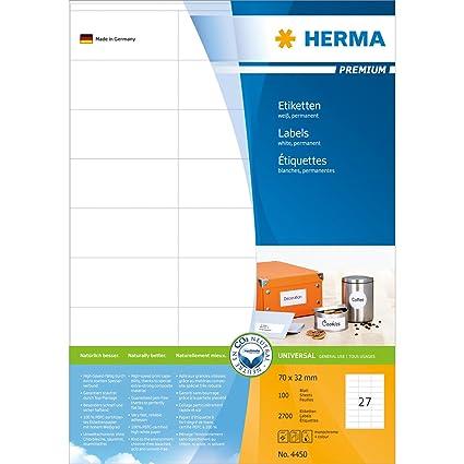 HERMA 4450 etiqueta de impresora - Etiquetas de impresora ...