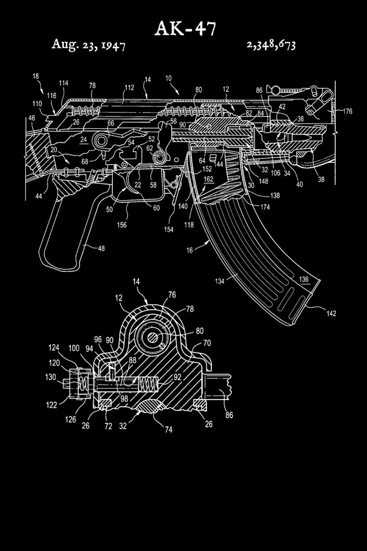 Ak47 Diagram Ak47 Exploded Diagram