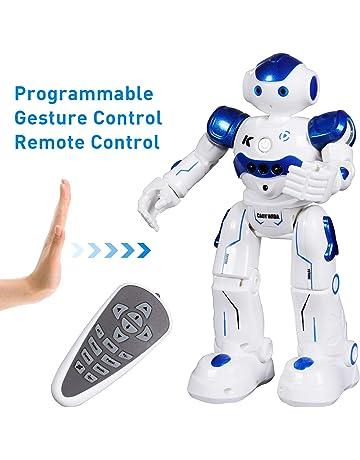 SGILE Recargable Robot Juguete, Programación Inteligente Sensación Robots para niños, Bailando Cantando Caminando Regalo
