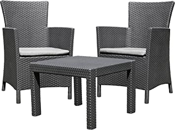 Allibert 219992 - Set de Mesa y Silla de Exterior: Amazon.es ...