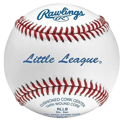 Rawlings RLLB Cushioned Cork Baseballs - 1 Dozen