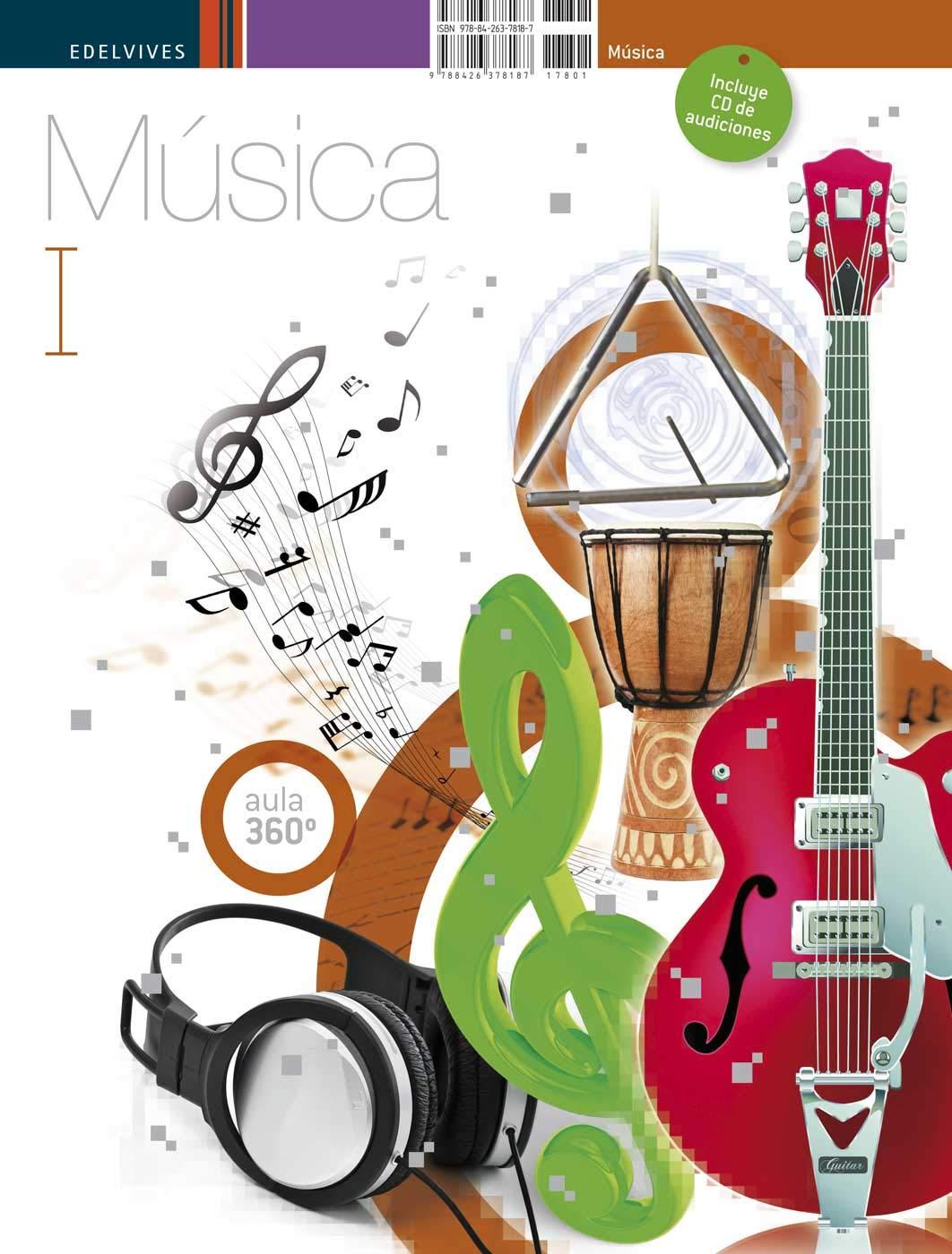 Música I - 1º y 2º ESO (Aula 360º): Amazon.es: Valle Mateos ...