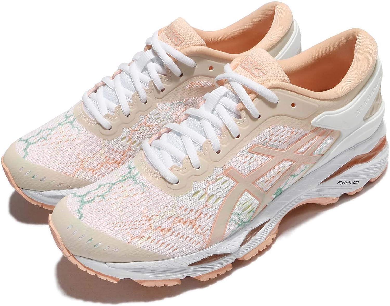 Asics Gel-Kayano 24 Lite-Show - Zapatillas de correr para mujer, color blanco, color Blanco, talla 47 EU: Amazon.es: Zapatos y complementos