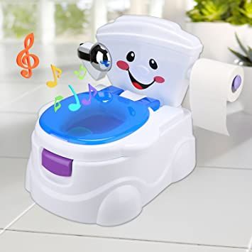 WC Sitz Kleinkinder Töpfchen Stuhl weich gepolsterte Babys Ausbildung