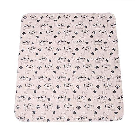 Smandy Pet Pee Pad, 3 Tamaños Reutilizable Impermeable Cachorro Perro Gato Pee Pads Cama Alfombra