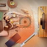 Yilian qvnuanqi Heater Home Energy Saving Power Fan Convection Electric Radiator Waterproof Heating Electric Remote Control Remote Control