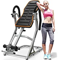 HARISON Heavy Duty Inversion Table for Back Pain Relief 350 LBS Capacity with 3D Memory Foam, Back Inversion Chair with 180 Degree Full Inversion