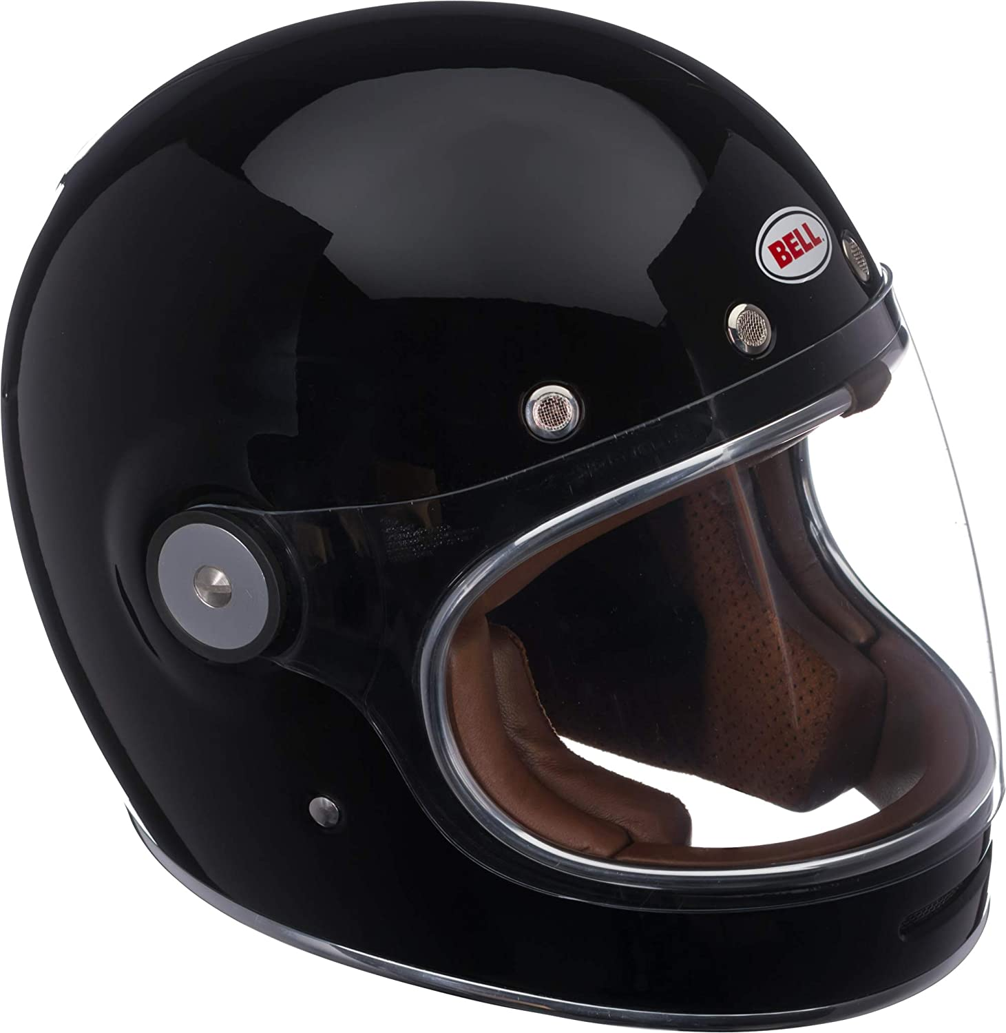 Bell Motorcycle Helmet >> Bell Bullitt Full Face Motorcycle Helmet Solid Gloss Black Large