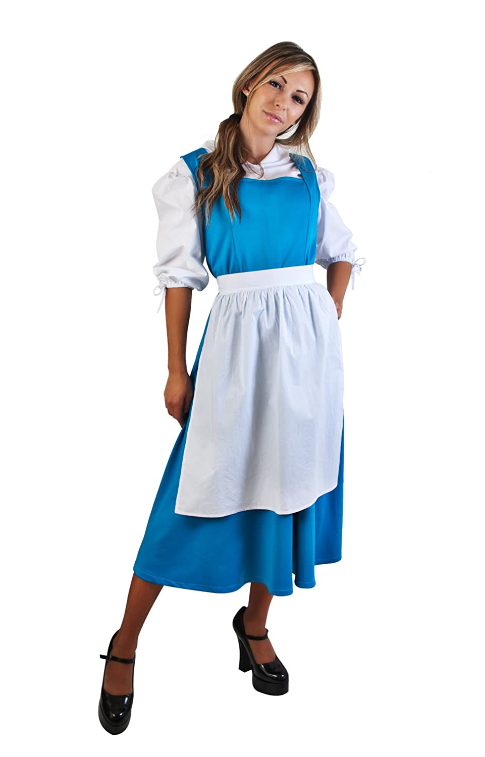 Amazon.com: Adult Blue Belle Costume, Size Standard: Clothing