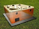 Confer SP3248 8' x 8' Handi Spa Hot Tub Deck