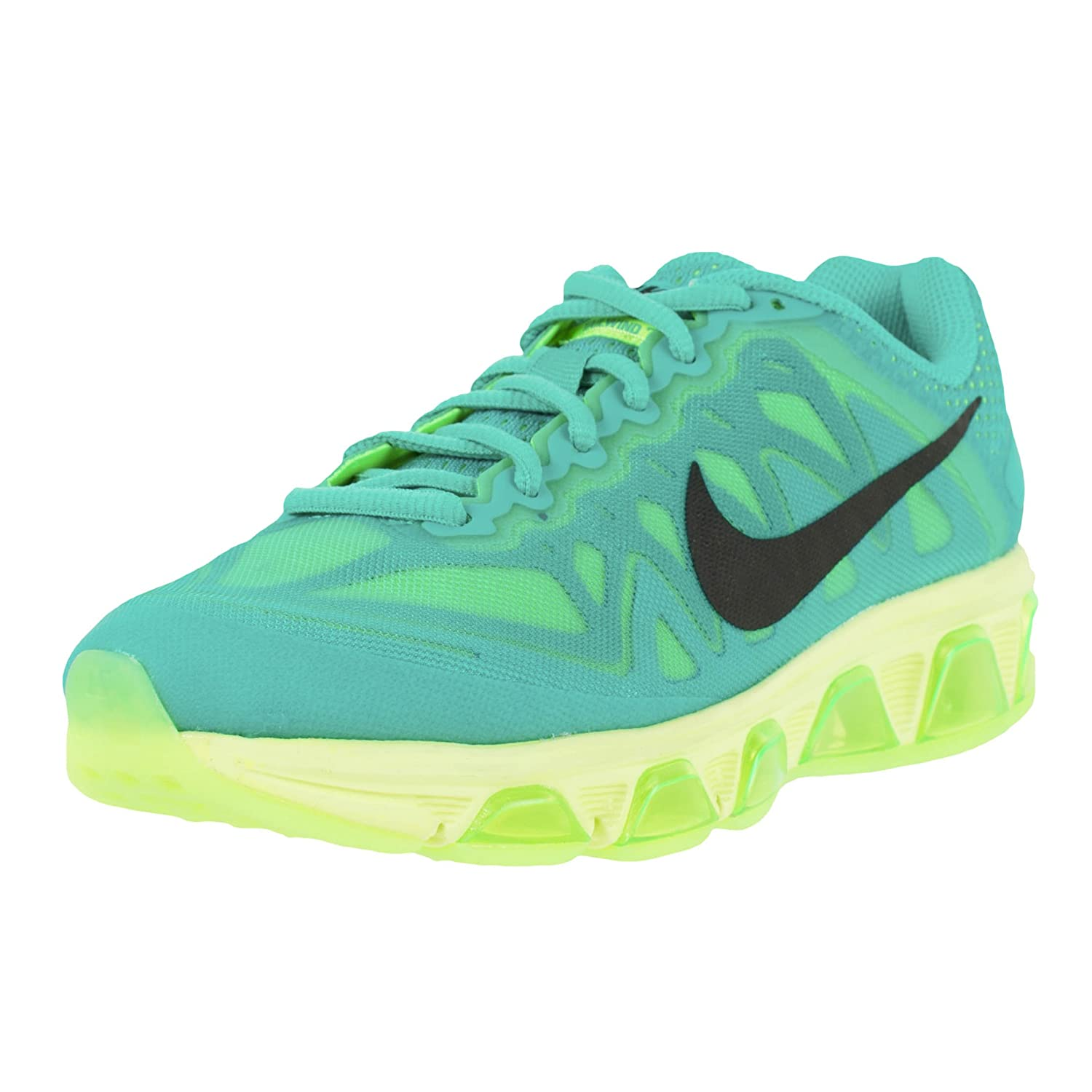 new concept 5d7e9 437bd Nike Womens AIR MAX Tailwind 7 Running Shoes Light Retro Black Lime  683635-400 (6 US)  Amazon.in  Shoes   Handbags