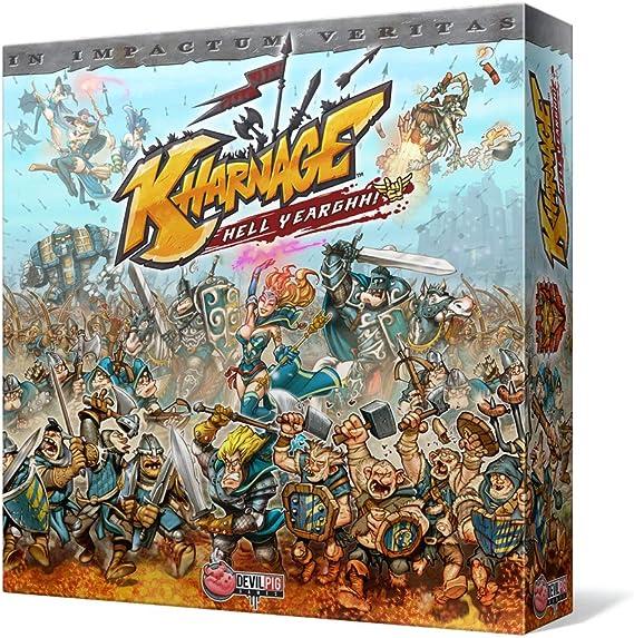 Edge Entertainment Kharnage - Juego de Mesa EDGKH01: Amazon.es: Juguetes y juegos