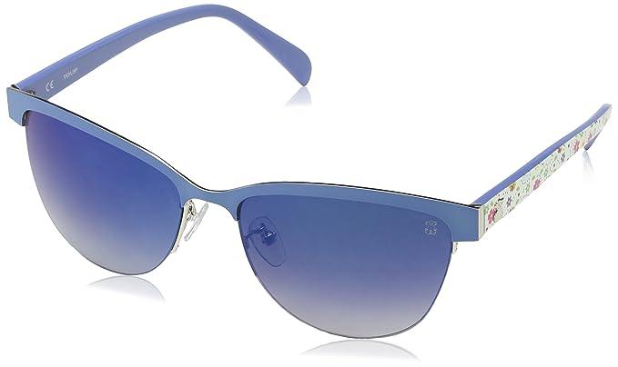 Tous STO314-570E70 Gafas de sol, Shiny Palladium, 57 para ...