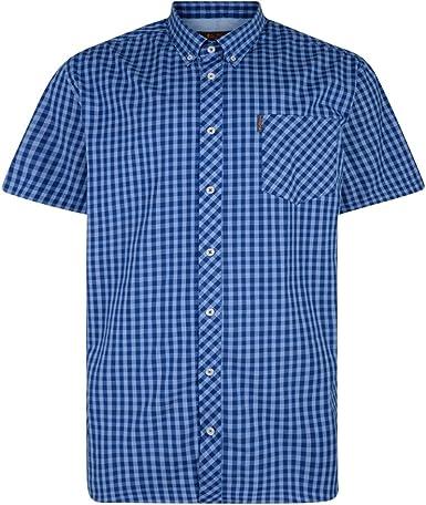 Ben Sherman MA13555 - Camisa de manga corta para hombre: Amazon.es: Ropa y accesorios