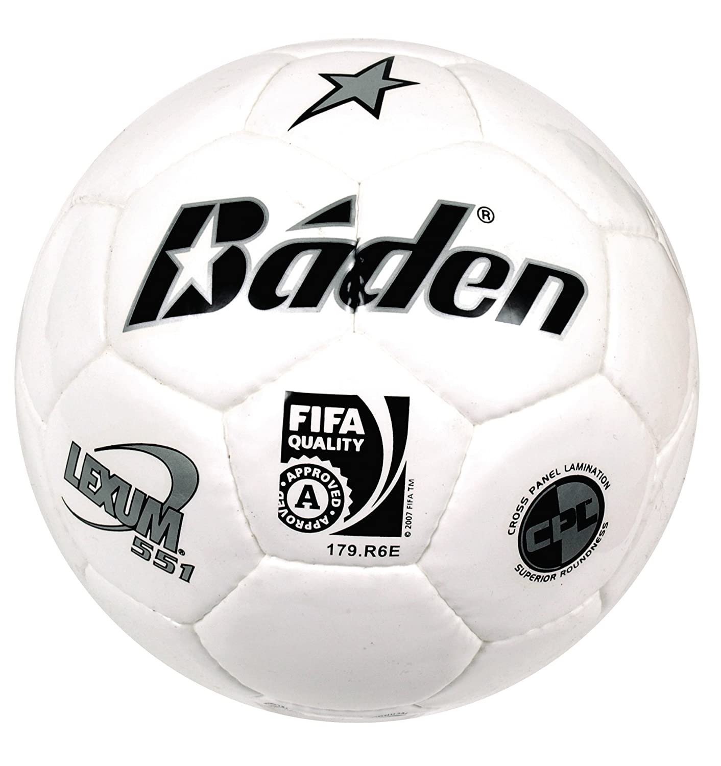 Baden Lexum S551 - Balón de fútbol, Color Blanco, Talla 5: Amazon ...