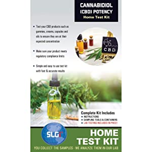 Cannabidiol (CBD) Potency Home Test Kit 1 PK (1 Day) Schneider Labs