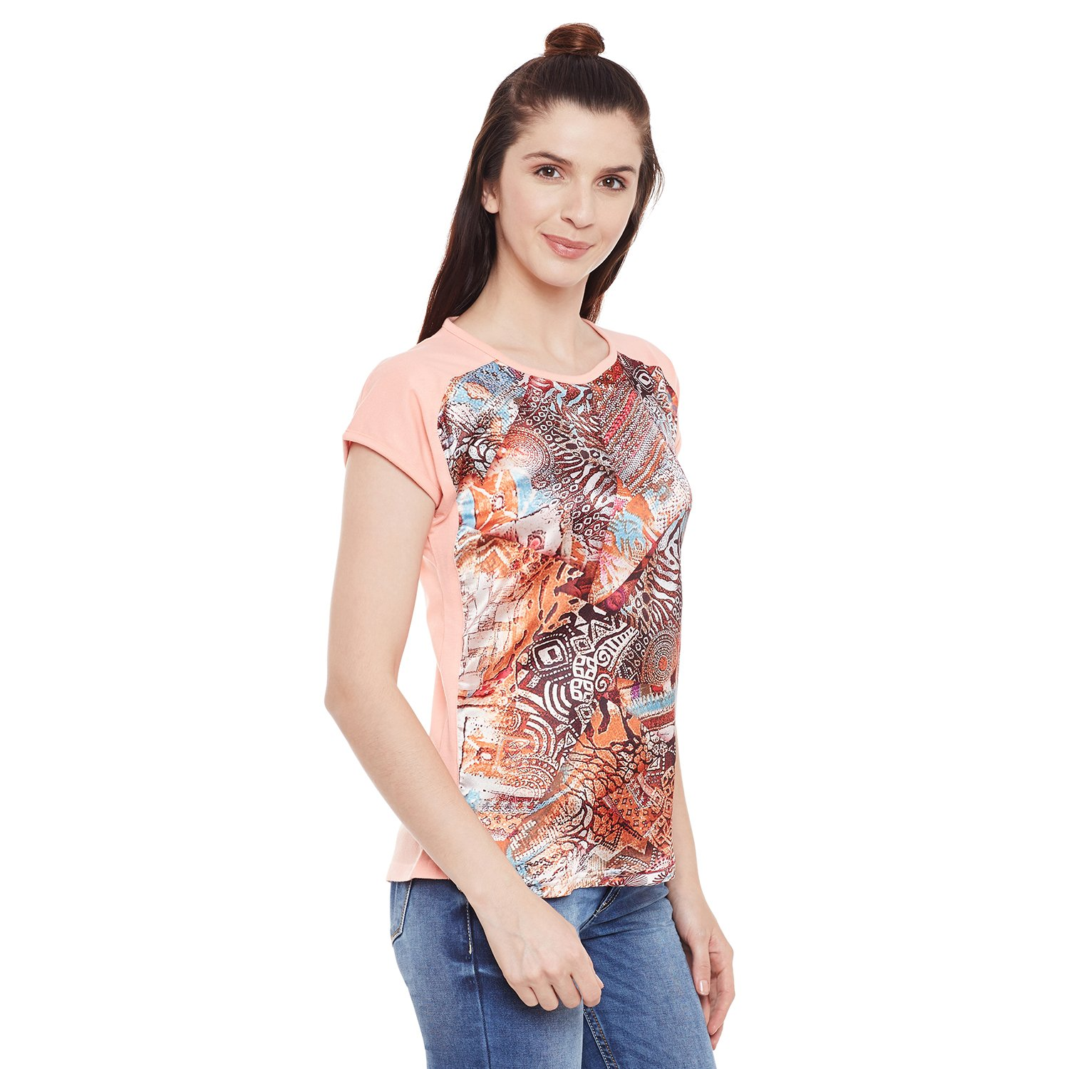 Girls Round Neck Top