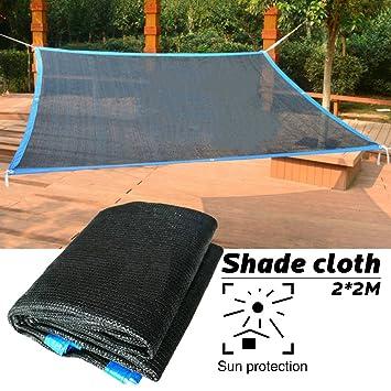 Sue Supply 2 x 2 m cubierta borde grueso plantar sombra de red balcón aislamiento del