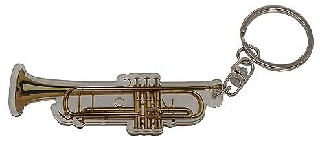 LLAVERO ACRILICO TROMPETA ACI-8065 REGALO MUSICAL ROCKMUSIC ...