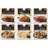 エバースマイル 洋食ムース 6種お試しセット(計6食) 介護食(区分3) レトルト/常温保存
