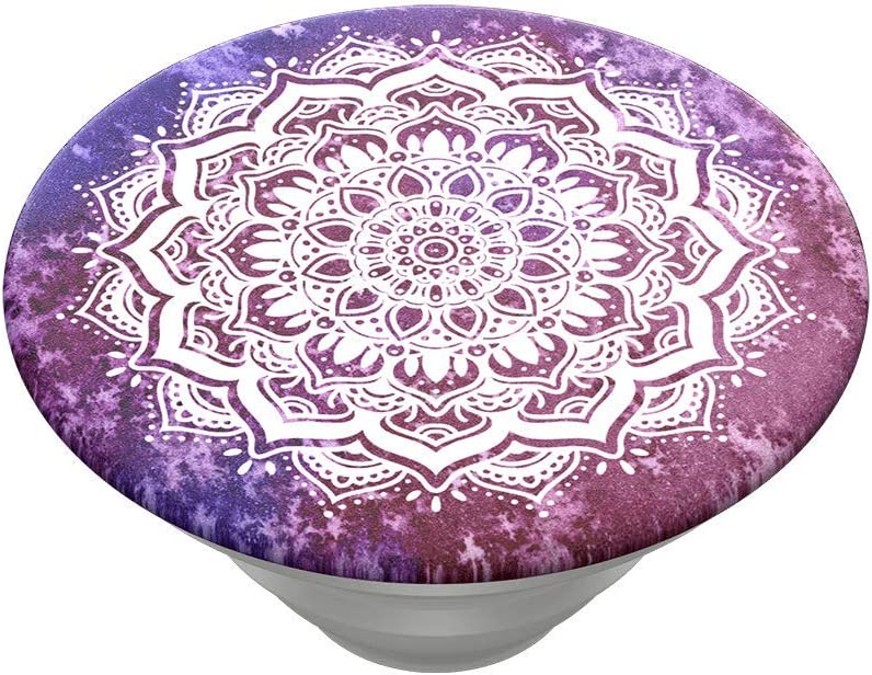 Magenta Mandala Otter+Pop /& PopWallet+ : Swappable Top for PopGrip Bases PopGrip Slide PopSockets PopTop Top only. Base Sold Separately.
