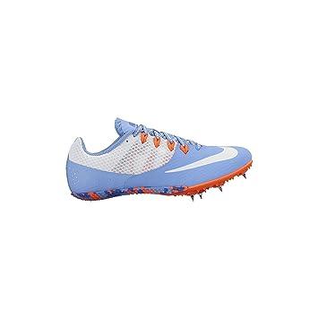 50% price on feet shots of wholesale dealer Women's Nike Zoom Rival S 8 Track Spike Chalk Blue/Blue ...
