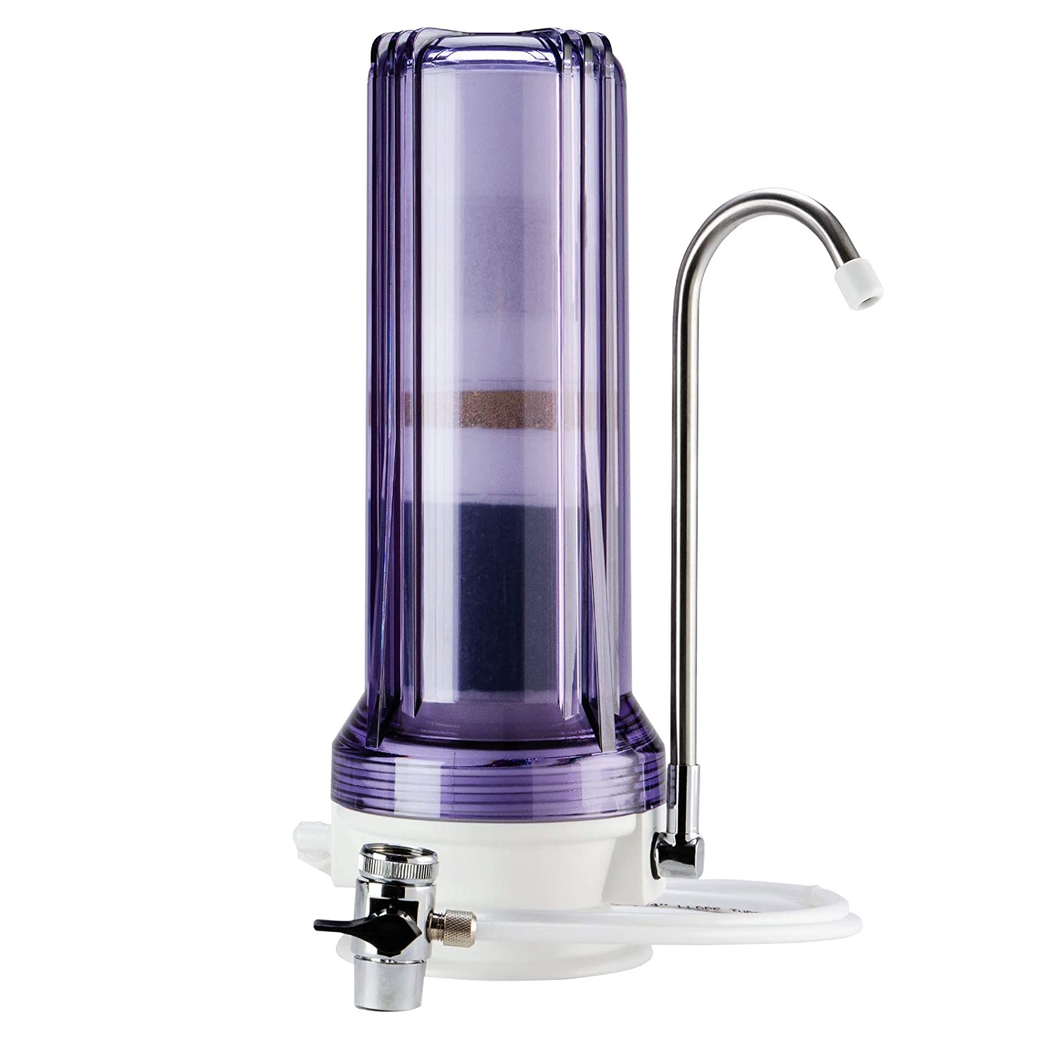 iSpring CKC1 countertop water filter White Housing with Carbon